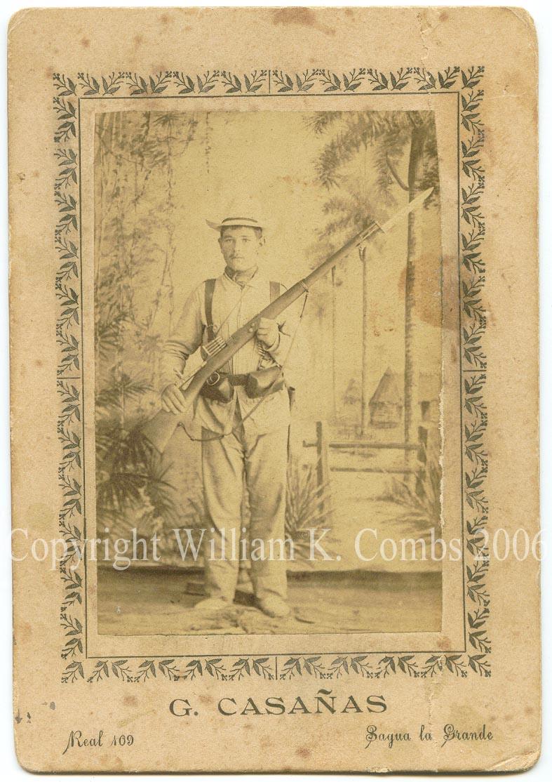 Colonial Infantryman: Possibly Regimiento Zaragoza #12, Cuba 1895-98