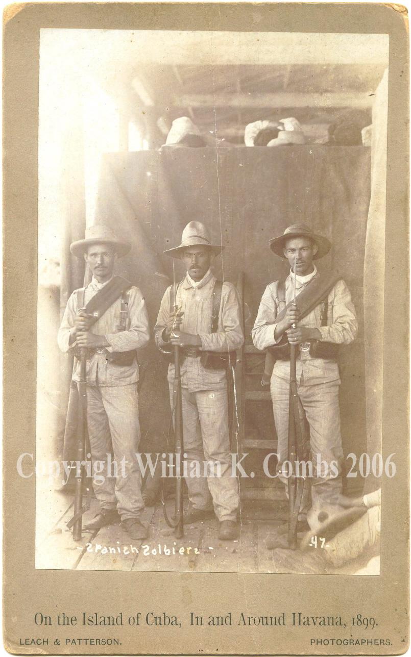Colonial Light Infantrymen: Cazadores Battalion de Tarifa #5, Cuba 1899